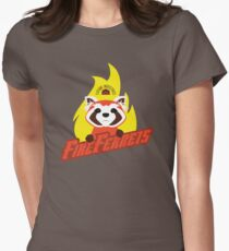 Future Industries Fire Ferrets Womens Fitted T-Shirt