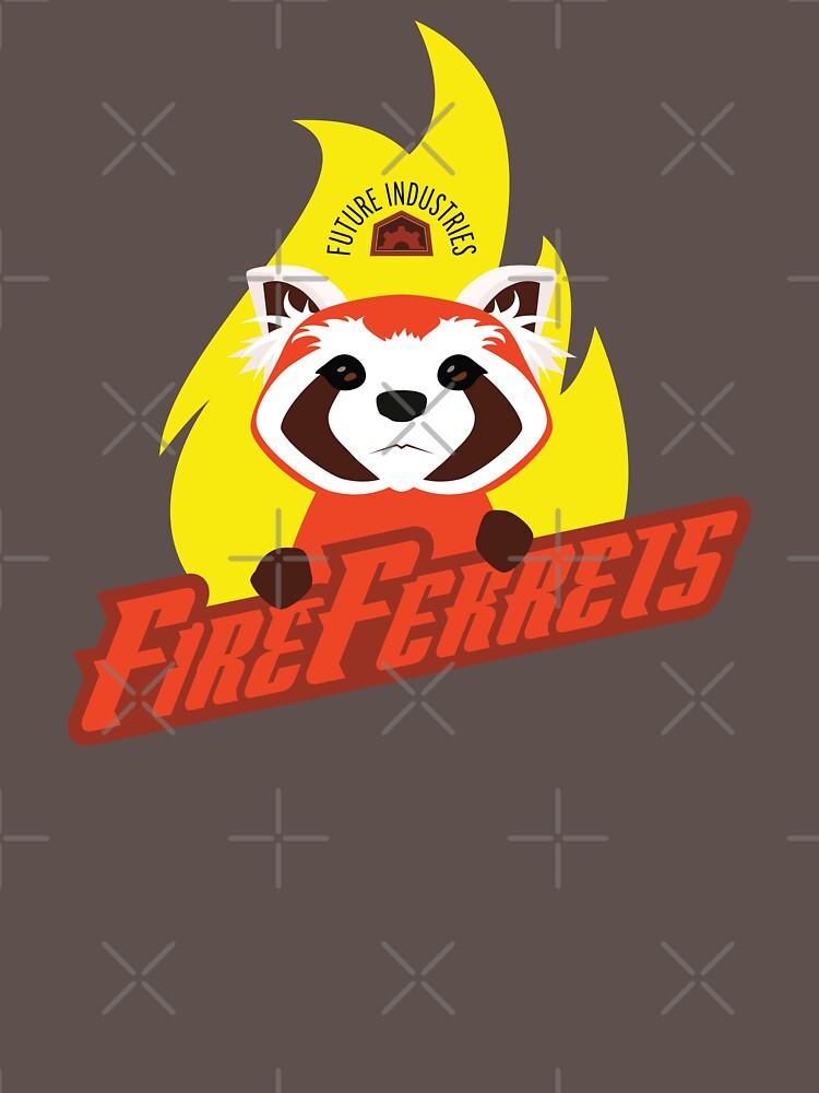 Future Industries Fire Ferrets | Unisex T-Shirt