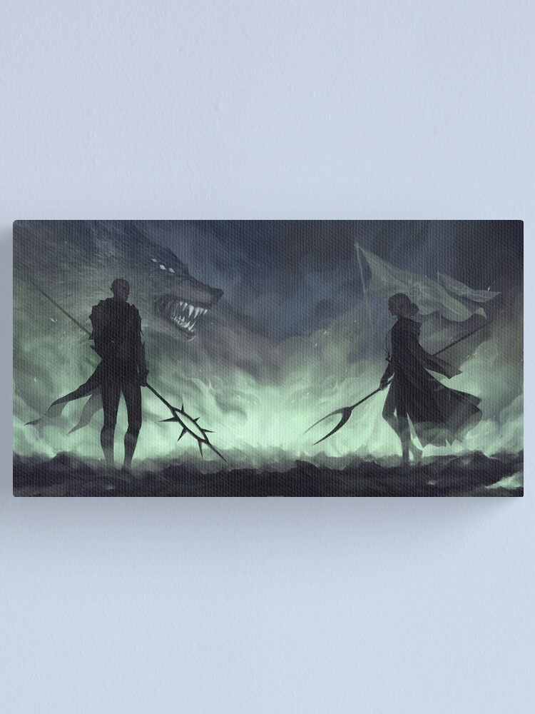 Alternate view of Last stand Canvas Print
