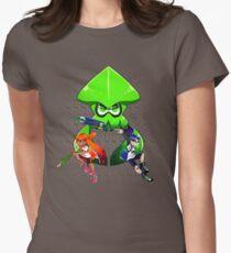 Splatoon Trio Womens Fitted T-Shirt