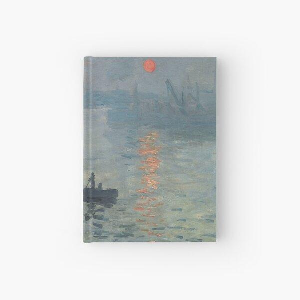 Monet Impression Sunrise Fine Art Hardcover Journal