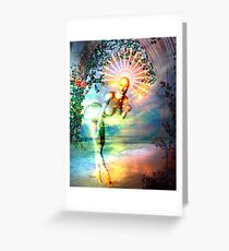 SUNRISE GODDESS Greeting Card