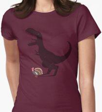 Evolution Sucks Women's Fitted T-Shirt