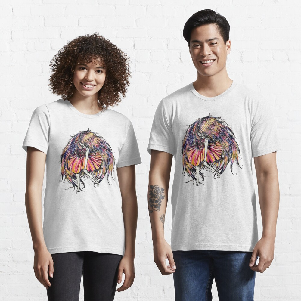 Faceless Girl is floating Essential T-Shirt