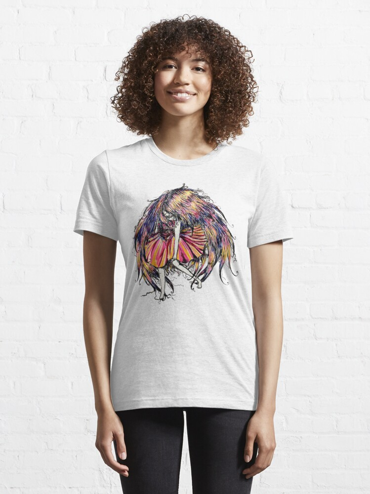Alternate view of Faceless Girl is floating Essential T-Shirt