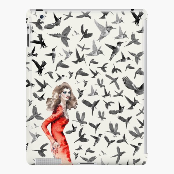 Barcelona Summer Bird Lady  iPad Snap Case