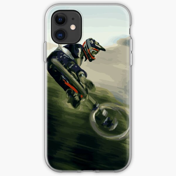 Mountain Bike Whip Poster iPhone Soft Case