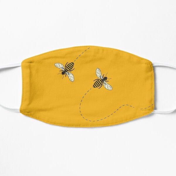 Bees design Flat Mask