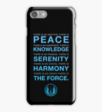 Jedi Code iPhone Case/Skin