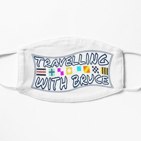 Travelling with Bruce Flag Logo Mask