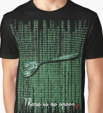 There is no spoon by neo Graphic T-Shirt