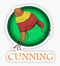 CUNNING! Sticker