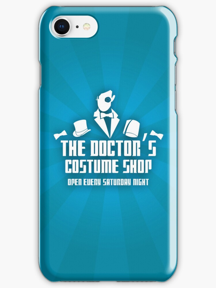 The Doctor's Iphone Shop by KitsuneDesigns