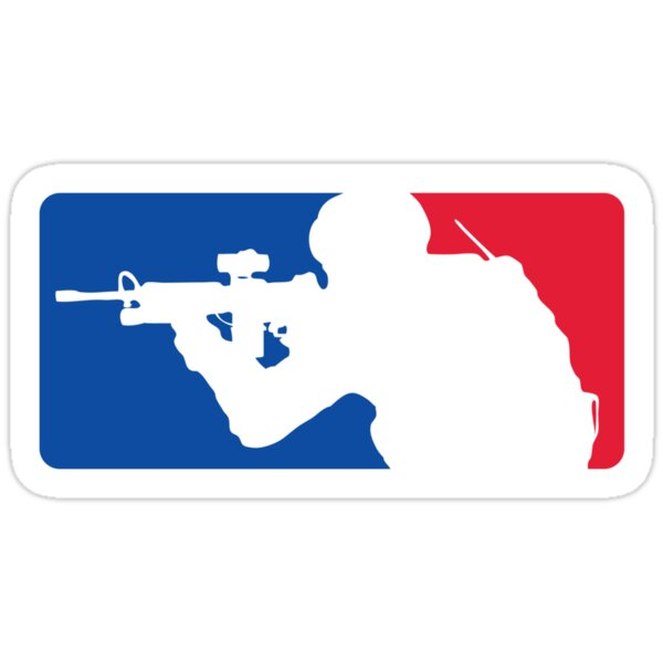 Quot Major League Infantry Quot Stickers By Jameshurrell Redbubble