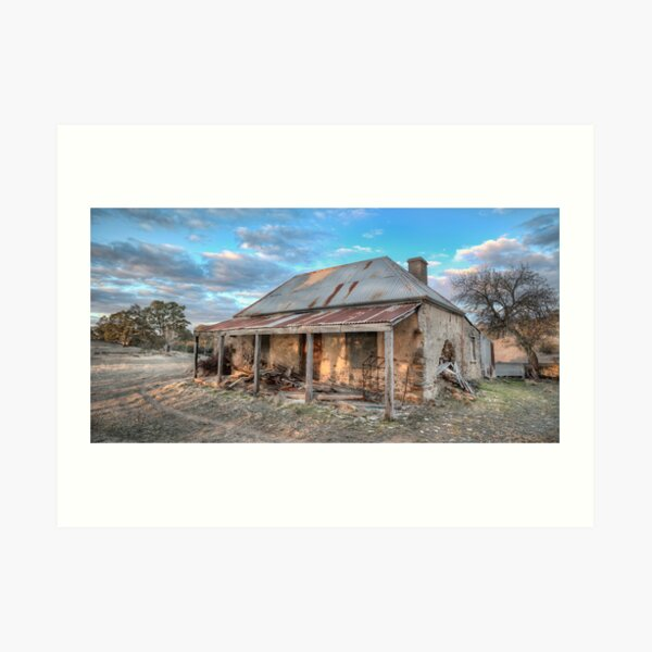 Country Side Ruin Art Print
