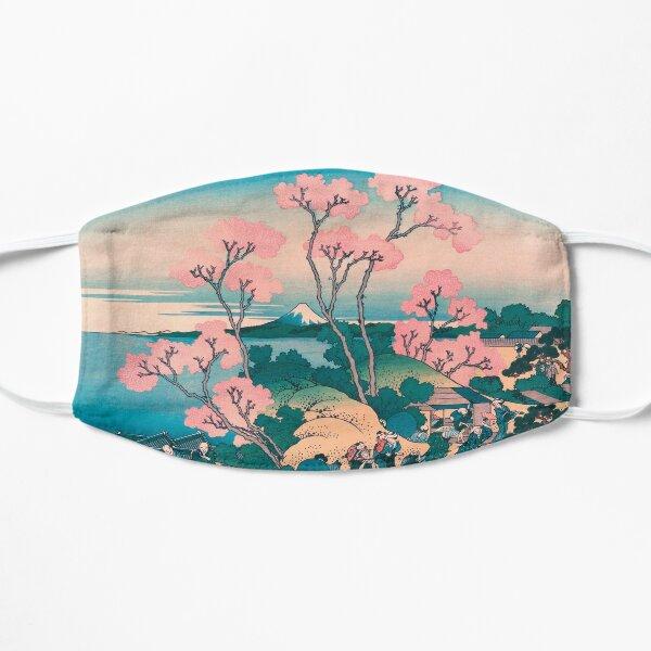 Pique-nique de printemps sous les fleurs de cerisier, avec fond du mont Fuji Masque taille M/L