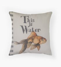 This is Water Throw Pillow