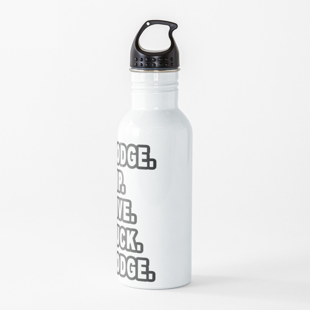 5 Rules Of Dodgeball  Water Bottle