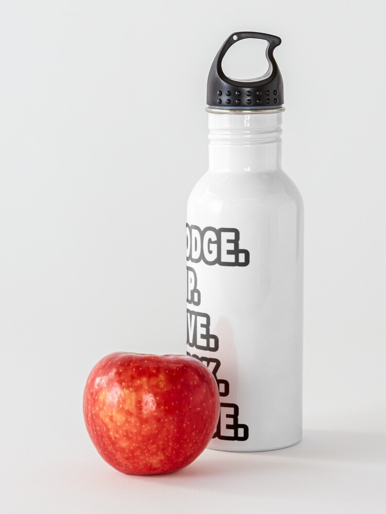 Alternate view of 5 Rules Of Dodgeball  Water Bottle