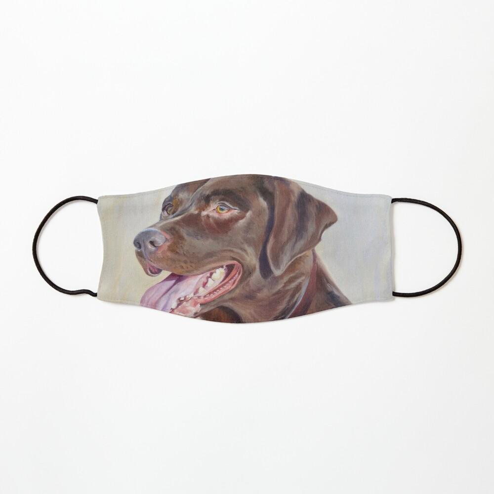 Chocolate Lab Portrait Mask