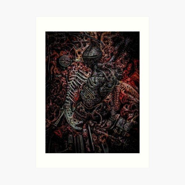 Chaos Knight II Art Print