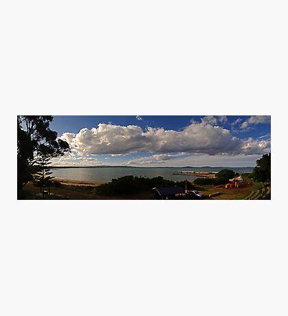 Swansea Sunset - Looking across Great Oyster Bay, Tasmania Photographic Print