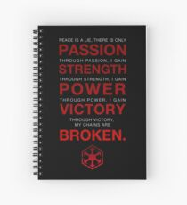 Code of the Sith Spiral Notebook