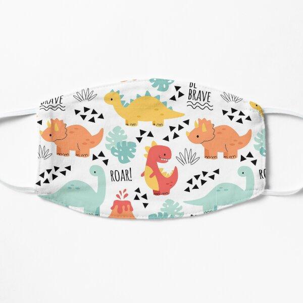 Cute Dinosaur Design Flat Mask