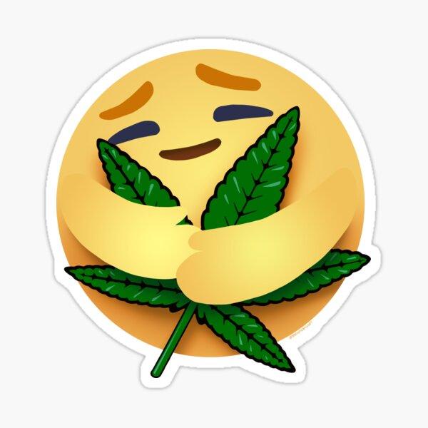 Leaf Hugger Care Emoji Sticker