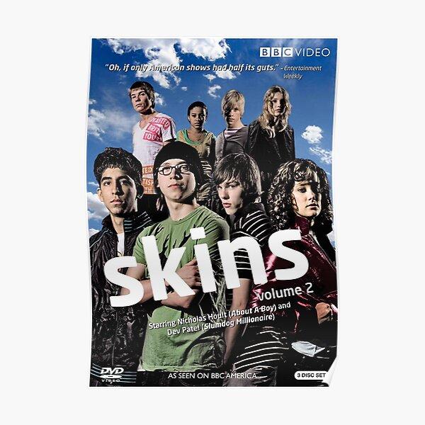Skins Cast Poster