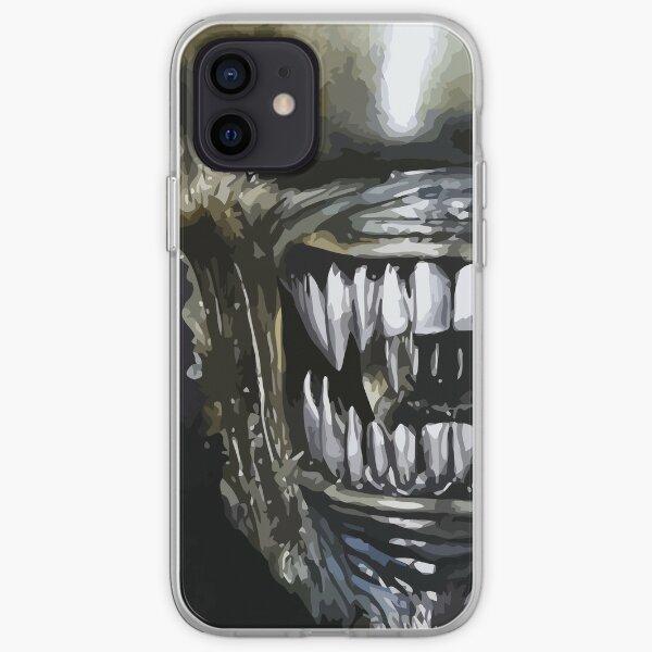 Alien Mouth 2 iPhone Soft Case