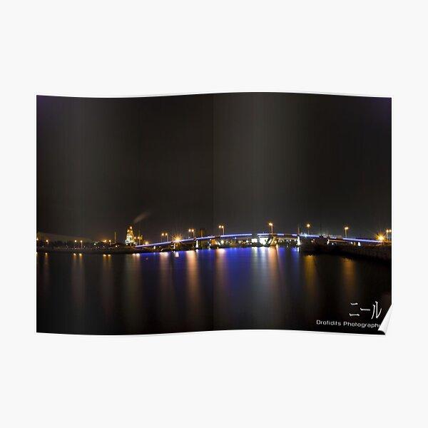 Port Adelaide Expressway Bridge Poster