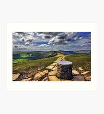 Losehill Derbyshire Art Print