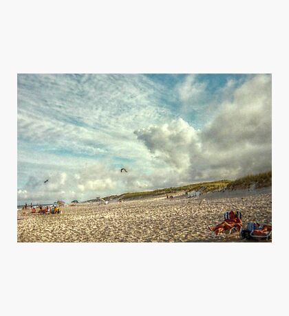 A Day At Island Beach, Almost Like A Painting Photographic Print