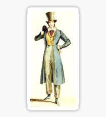 Top Hat Man Sticker