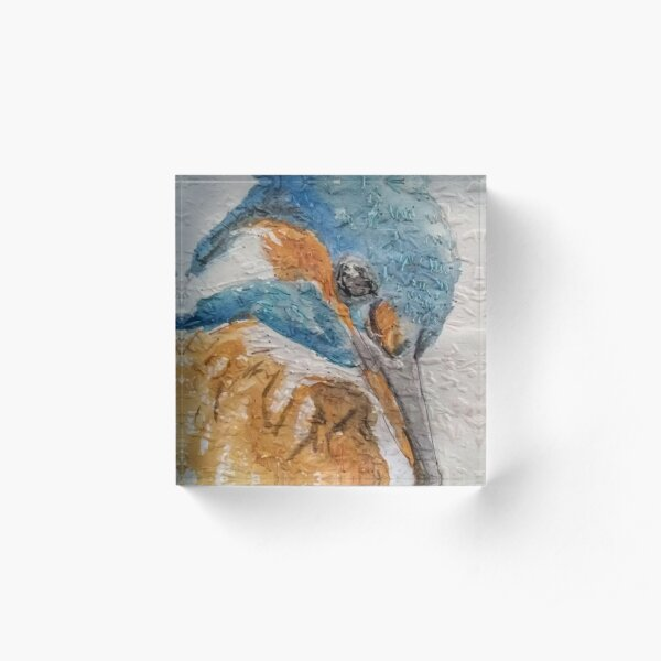 Kingfisher Art Acrylic Block
