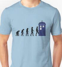 Evolution in time... Unisex T-Shirt
