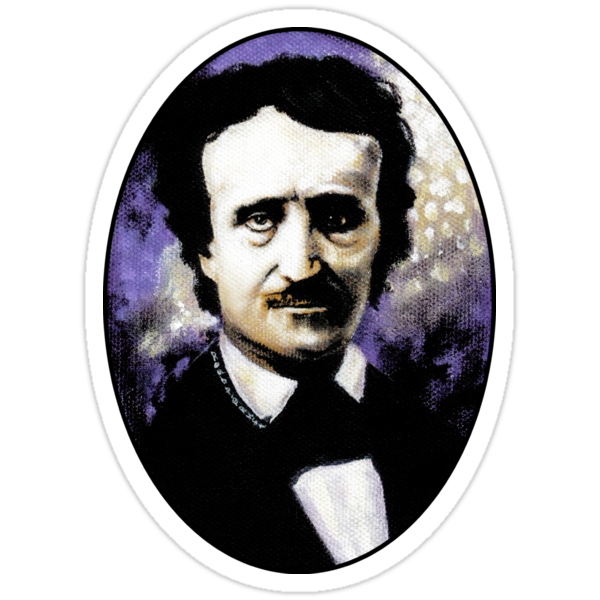 Edgar Allan Poe by ROUBLE RUST