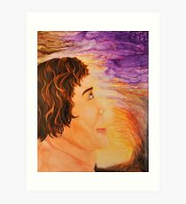 In awe see the magic Art Print