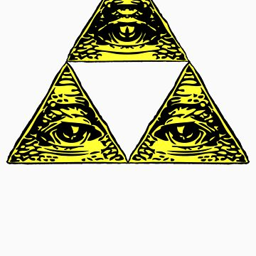 All Seeing Tri-Force by cadaver138
