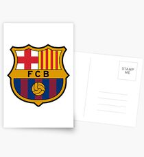 BARCELONA BARCA Postcards