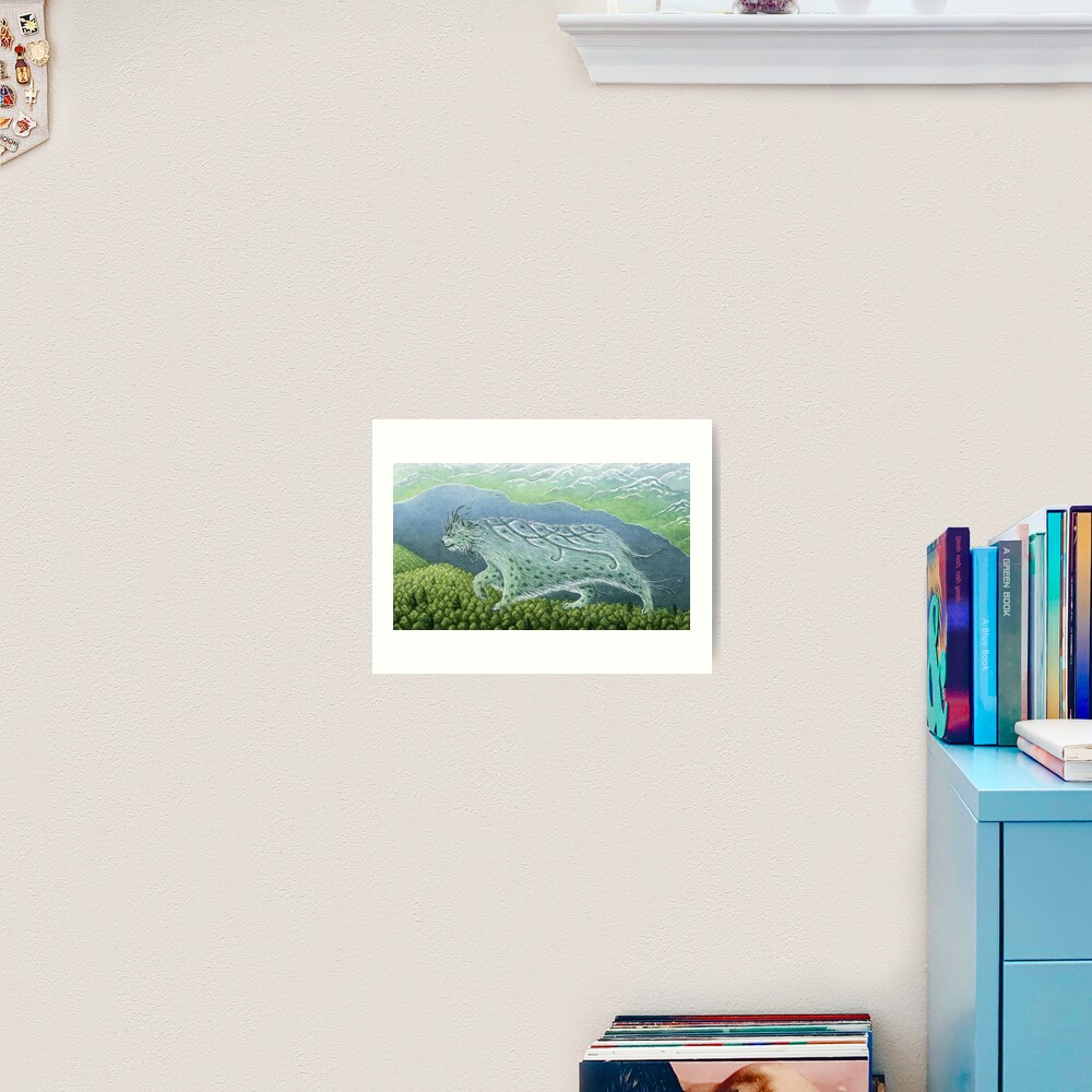 Over Land, By the Sea Art Print