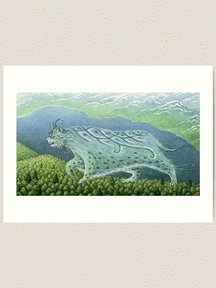 Alternate view of Over Land, By the Sea Art Print