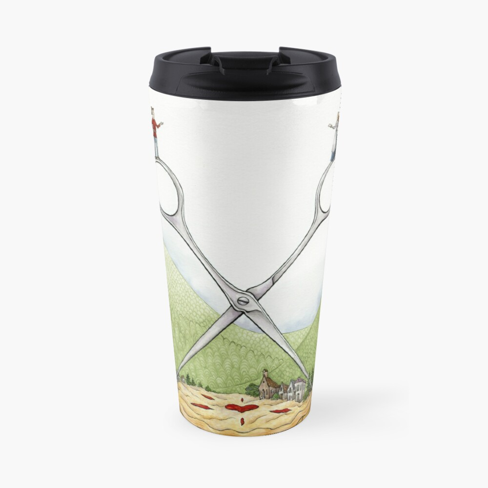 The Barber of Pieville  Travel Mug