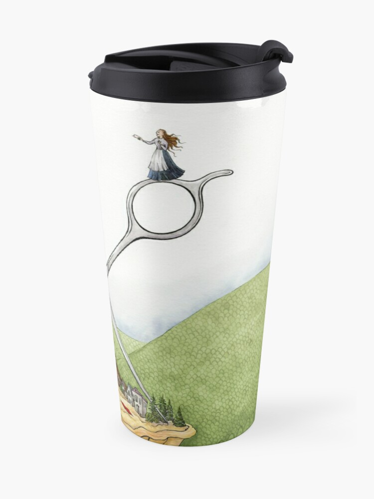 Alternate view of The Barber of Pieville  Travel Mug