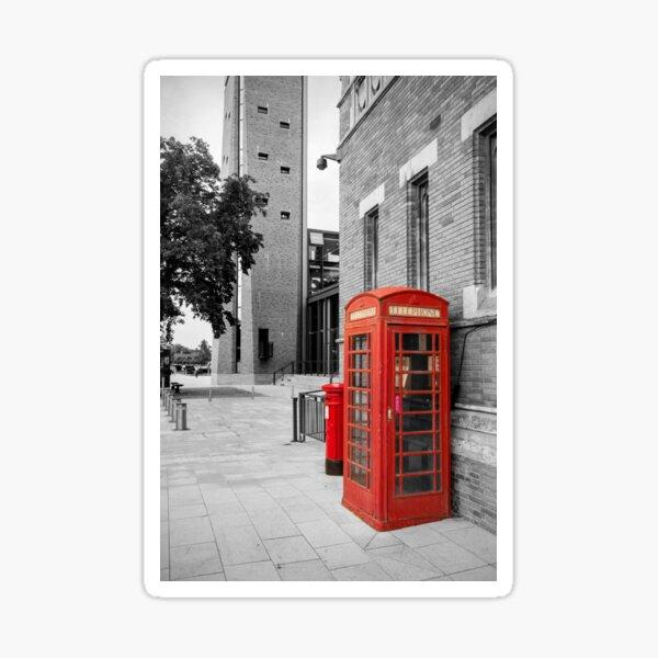 Red Telephone & Post Box Sticker
