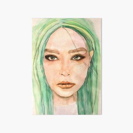 Emma Art Board Print