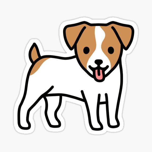 Jack Russell Sticker