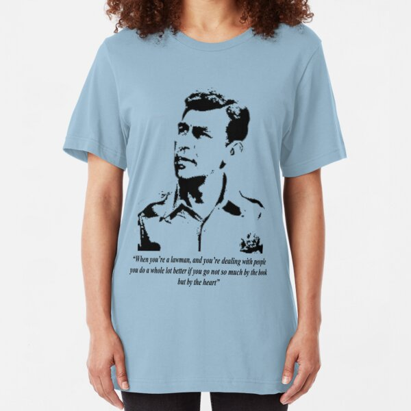 Sheriff Andy Taylor Slim Fit T-Shirt