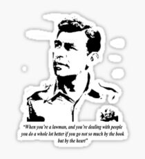 Sheriff Andy Taylor Sticker